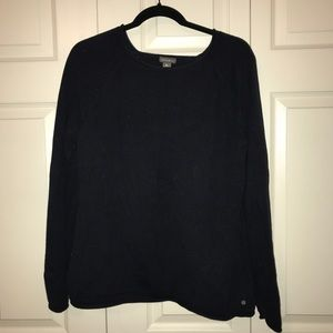 Navy Eddie Bauer sweater